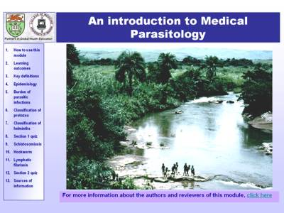 Parasitology module