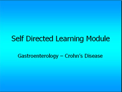 Crohns disease module.